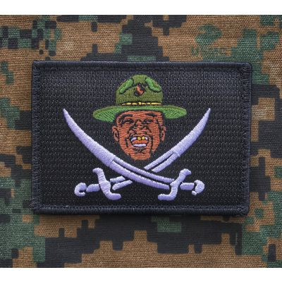 Major Payne Pirate Flag Patch