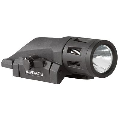 InForce Multi-Function WML 400 Lumens, Gen 2, White LED, Black