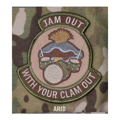 Jam Out With Your Clam Out Patch