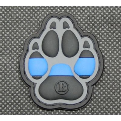 K9 Thin Blue Line 3D PVC Patch
