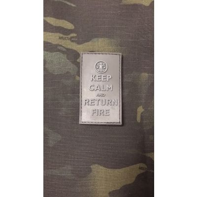 Keep Calm and Return Fire Patch- Blackout