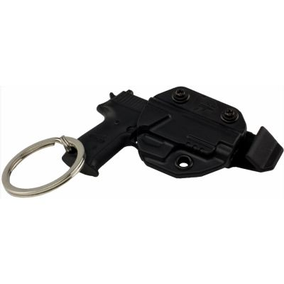 Sig Sauer Keychain with Mini Kydex Holster & Belt Clip