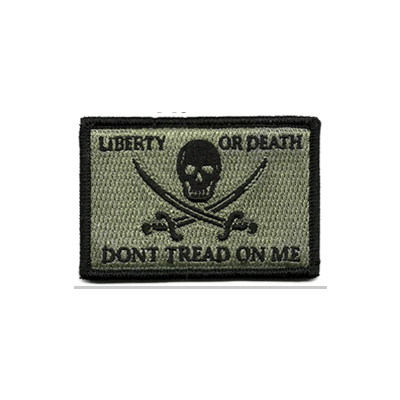 Liberty Or Death Don't Tread  Patch - Calico Jack