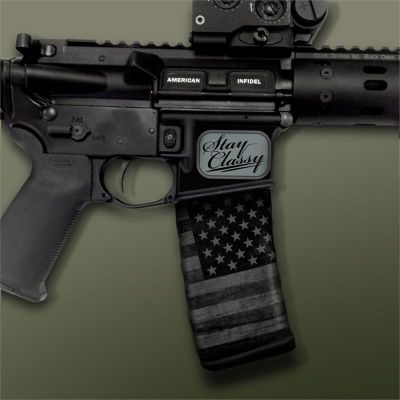 AR-15 Mag Well Decals - Mil-Spec Monkey - Stay Classy