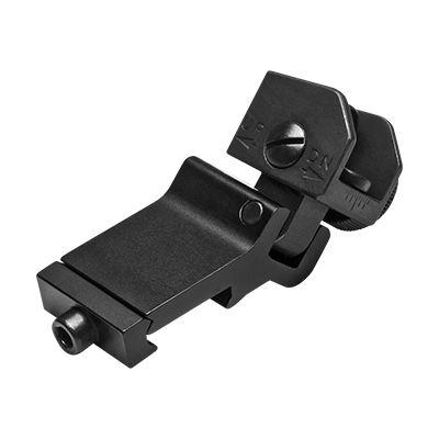 AR15 45 Degree Offset Folding Rear Sight