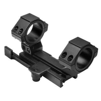 """AR15 Qr Weaver  Mount/ Cantilever Scope Mount Rear Ring/30mm & 1"""" Inserts"""