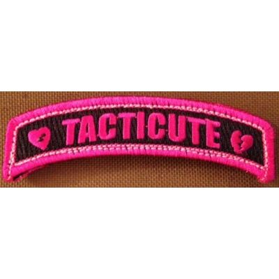 Tacticute Patch V.3 Black/Pink