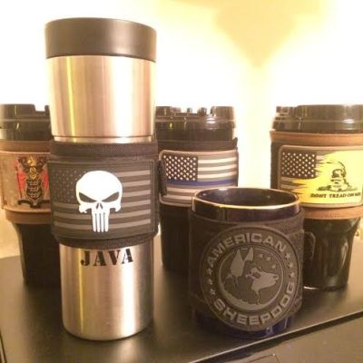 Tactical Mug Cover - Black