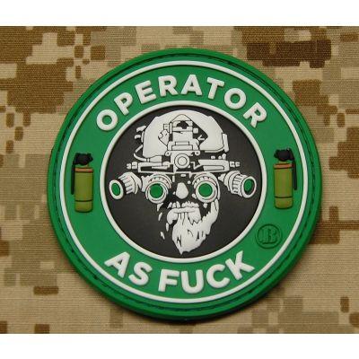 Operator As Fuck Patch - Starbucks Version