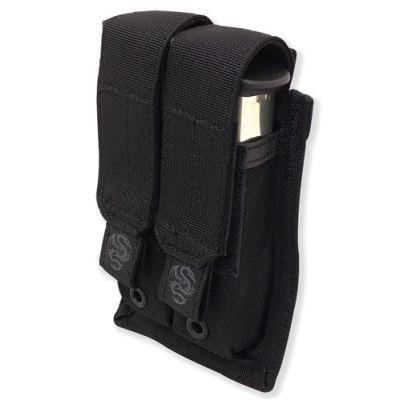Tacprogear Double Pistol Mag Pouch w/ GRIPTITE