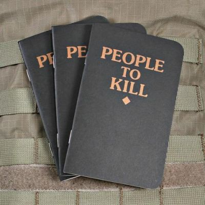 People to Kill Memo Book 3 Pack