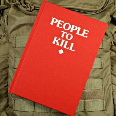 People to Kill Notebook Red