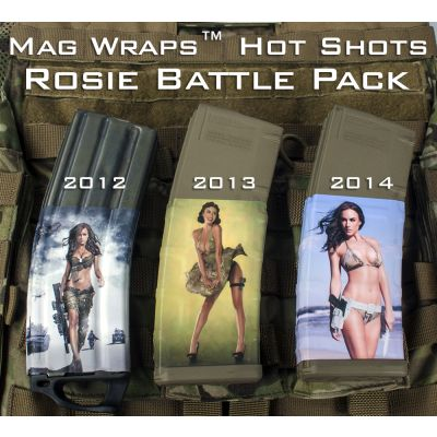 AR 15 Mag Wraps - Hot Shots Rosie Battle Pack