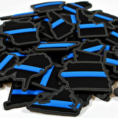 Every State in the Union Thin Blue Line Patches
