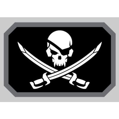 PIRATESKULL FLAG DECAL