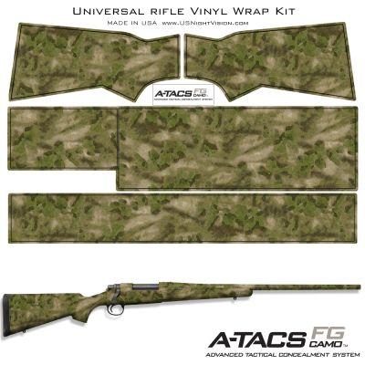 A-TACS Camo™ Pre-Cut Universal Rifle Skin Vinyl Wrap