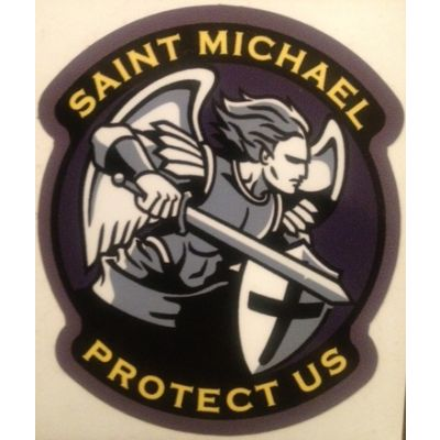 Saint Michael Modern Decal