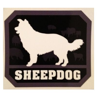 Sheepdog sticker
