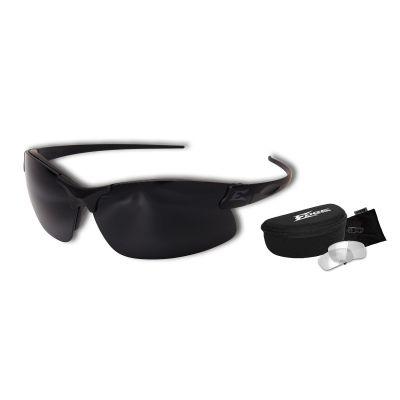 Sharp Edge Thin Temple 2 Lens Kit – ST Matte Blk Frame / Clear, G-15 Lenses