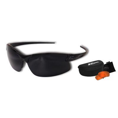 Sharp Edge Thin Temple 2 Lens Kit – ST Matte Blk Frame / Tiger's Eye , G-15 Lenses