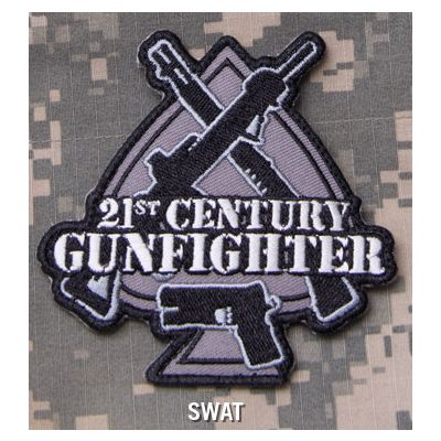 21st Century Gunfighter Patch