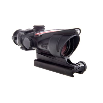 Trijicon ACOG 4x32 Scope, Dual Illuminated Red Crosshair .223 Ballistic Reticle w/ TA51 Mount