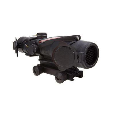 Trijicon ACOG 4x32 BAC Rifle Combat Optic (RCO) Scope with Red Chevron Reticle for the US Army's M150 with Thumbscrew Mount