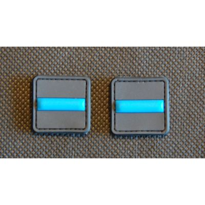 Thin Blue Line Ranger Eyes 3D PVC Patch