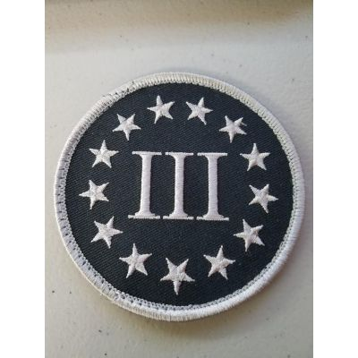 Three Percenter Patch