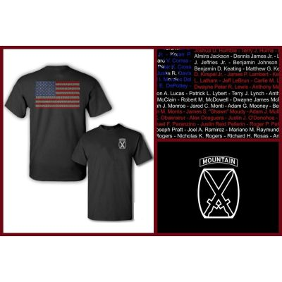 10th Mountain Division Tribute T-Shirt
