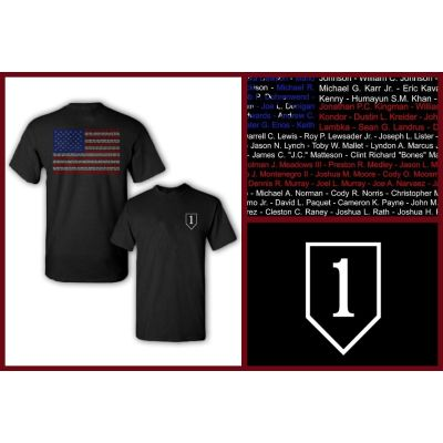 1st Infantry Division Tribute T-Shirt