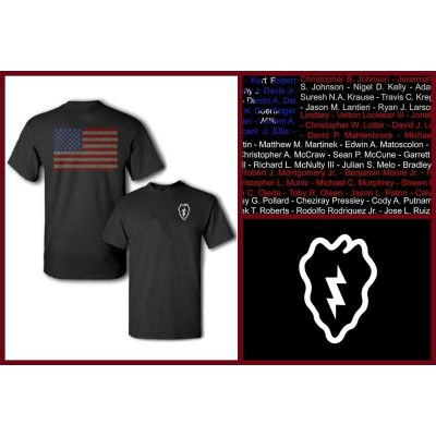 25th Infantry Division Tribute T-Shirt