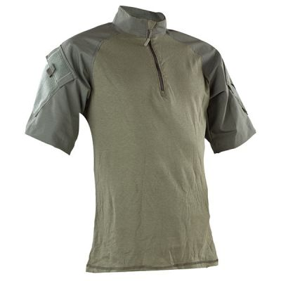 Tru-Spec Short Sleeve 1/4 zip Combat Shirt