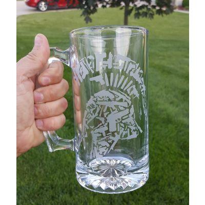 Tactical Shit Beer Mug