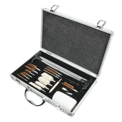 Universal Gun Cleaning Kit/Aluminum Carry Case