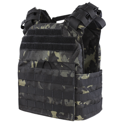 Cyclone Lightweight Plate Carrier- Multicam Black