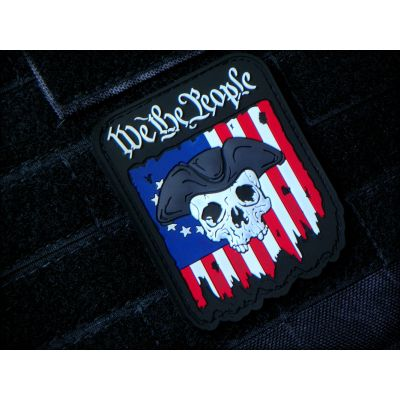 We the People 3D PVC Patch