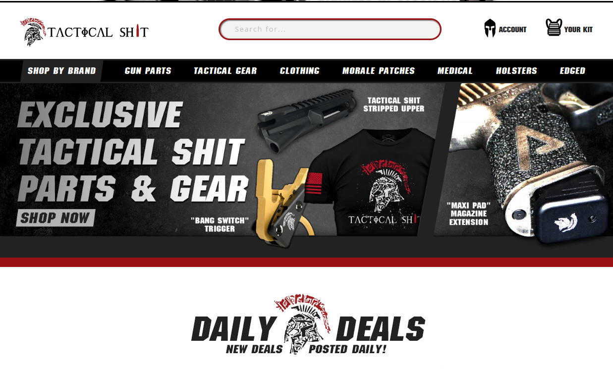 Tactical Gear, Gun Parts & 2nd Amendment Lifestyle Apparel